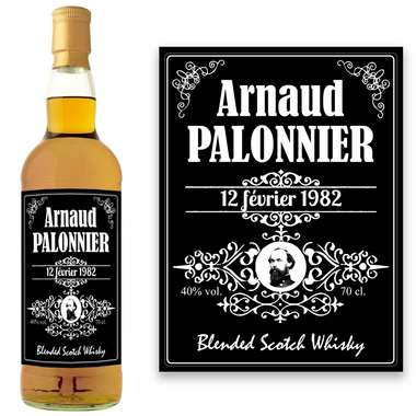Whisky personnalisé