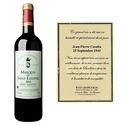Vin personnalisé - Marquis de St Estèphe