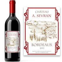 Vin personnalisé - Château Fongaban