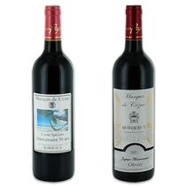 Vin personnalisé Bordeaux rouge