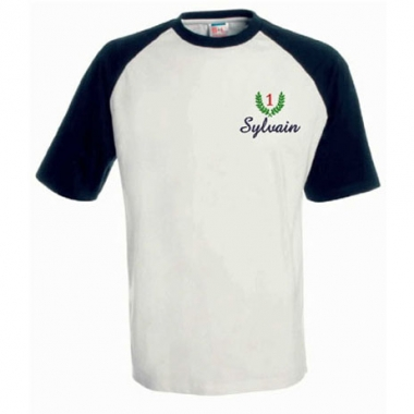 Tee Shirt Sport brodé