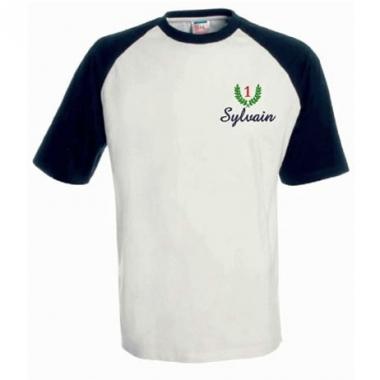 Le Tee Shirt brodé avec le motif de votre choix