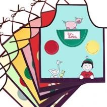 Le tablier pour enfant personnalisé à son prénom