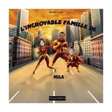 Livre Personnalisé l'incroyable famille de