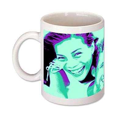 Mug pop'art personnalisé avec votre photo