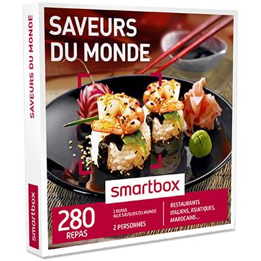 Smartbox Saveurs du monde