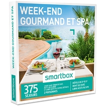 Smartbox Week-end gourmand et Spa