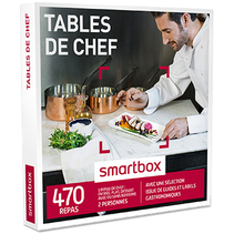 Smartbox Tables de chef