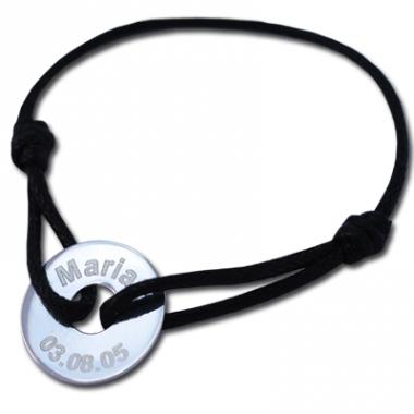 Bracelet jeton personnalisé