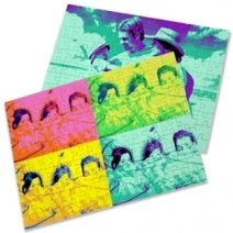 Puzzle photo popart personnalisé
