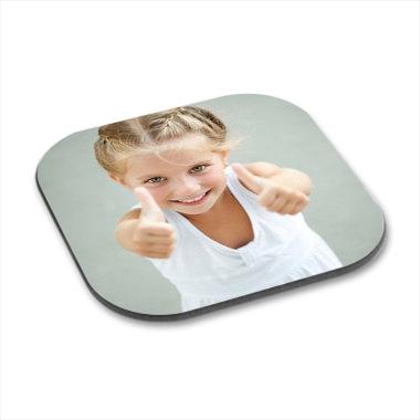 Dessous de verre personnalisés photo