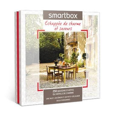 Smartbox Maison d'hôtes et saveurs