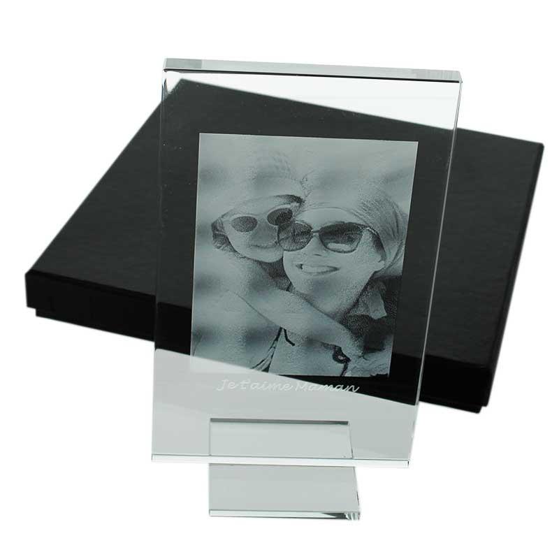 cadre en verre grav 233 avec votre photo