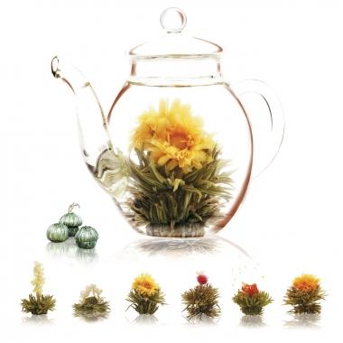 Théière et Fleurs de thé