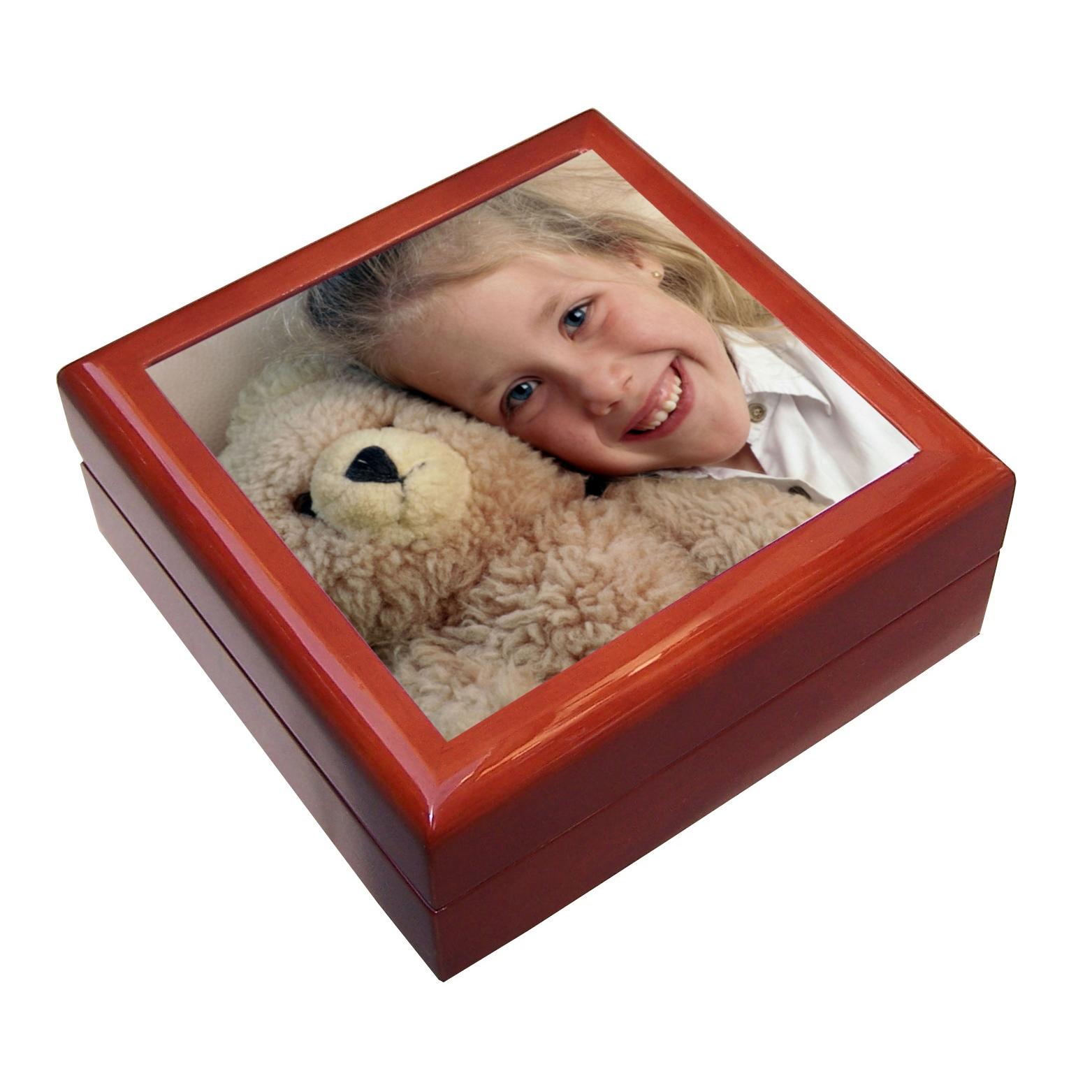 cadeau personnalis la bo te bijoux photo. Black Bedroom Furniture Sets. Home Design Ideas