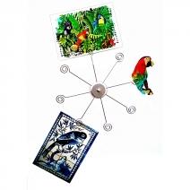 Support décoratif photos