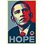 Portrait Pop'obama personnalisé