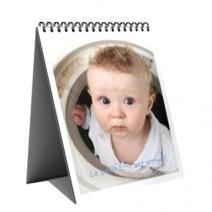 Calendrier photo personnalisé chevalet de bureau