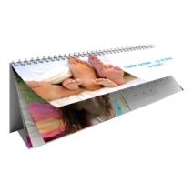 Calendrier photo personnalisé maxi-chevalet