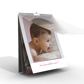 Calendrier photo mural 2015 personnalis for Calendrier mural 2015