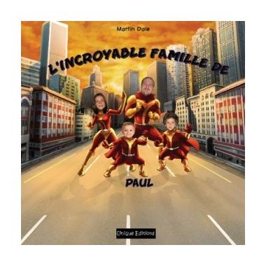 Livre enfant personnalisé - L'incroyable famille