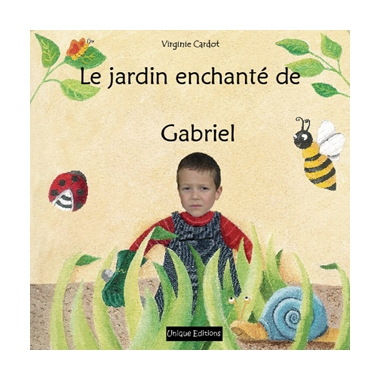 Livre personnalisé-Le jardin enchanté avec proche