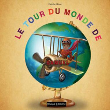 Livre Personnalisé : le tour du monde de