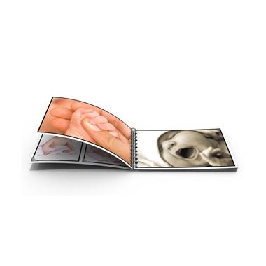 livre photo compact mini livre photo couverture souple et spirales. Black Bedroom Furniture Sets. Home Design Ideas