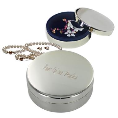 Boîte À bijoux gravée