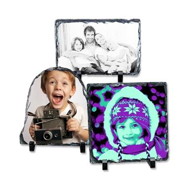 Ardoise personnalisée avec votre photo