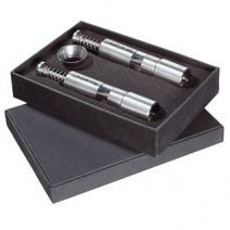 Set piston poivre et sel design gravé