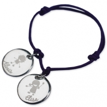 Bracelet silhouette enfant
