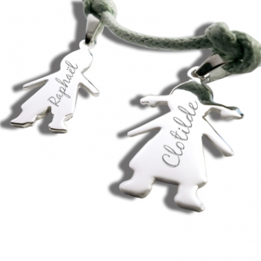 Bracelet Chérubin gravé