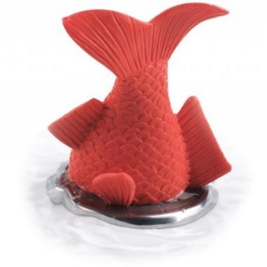 Cadeau design bonde de baignoire poisson rouge for Poisson rouge achat