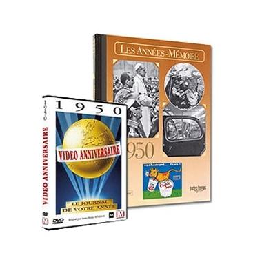 Pack livre et DVD année de naissance