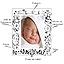 Cadre de naissance personnalisé