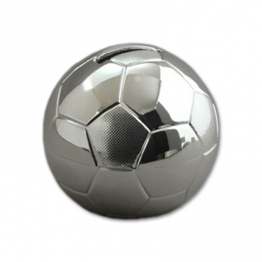 Tirelire gravée football