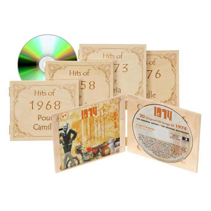 CD meilleurs hits de l'année de naissance