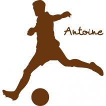 Stickers personnalisé football