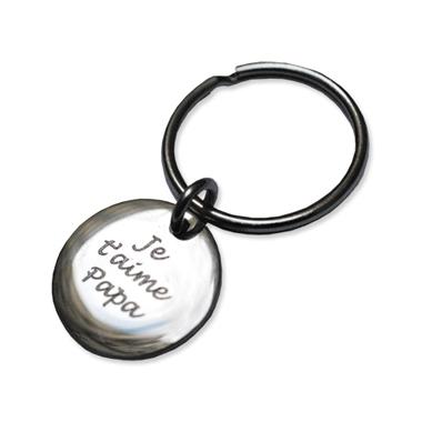 Porte-clés petit rond