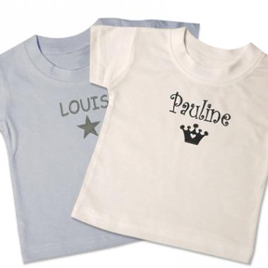 t-shirt-bébé-personnalisé