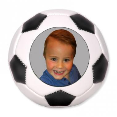 ballon de football personnalis avec une photo ou un texte. Black Bedroom Furniture Sets. Home Design Ideas