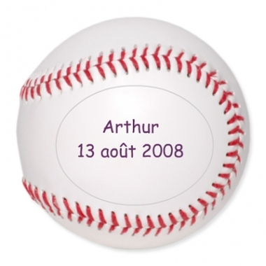 Balle de baseball personnalisée