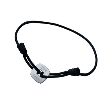 Bracelet Jeton carré