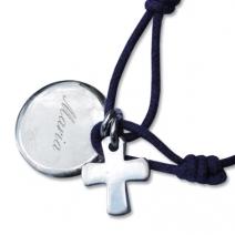Bracelet baptême croix