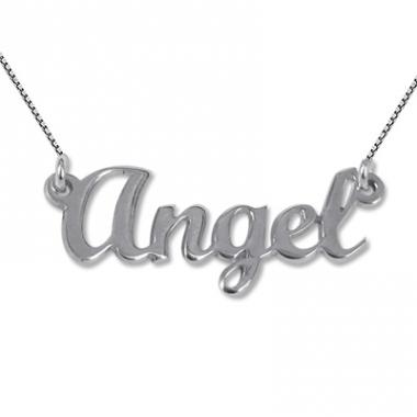 Collier prénom Angel
