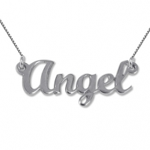 Collier prénom Angel