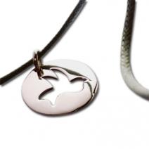 Bracelet colombe ajourée