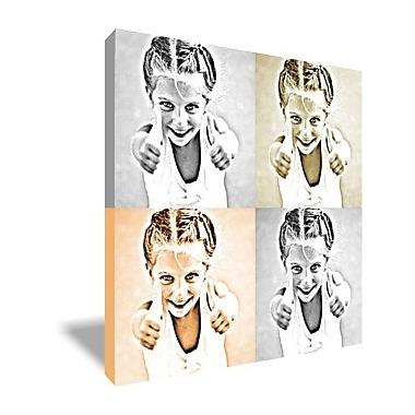 Tableau monochrome 4 photos un cadeau design partir de for Decoration epuree definition