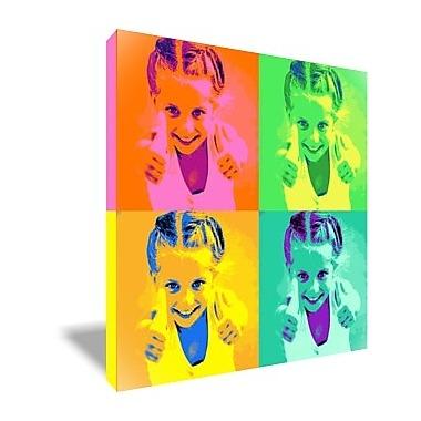 Tableau Pop Art personnalisé 4 photos